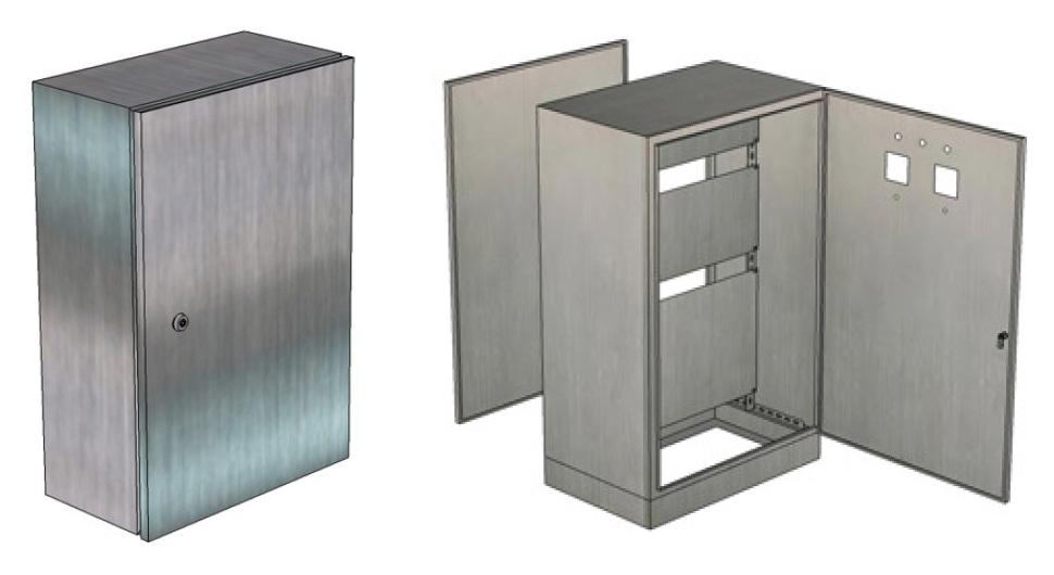 Vỏ tủ điện thép không Gỉ (Inox 304 , inox 316 ) - SUS304 - SUS316